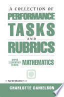 A Collection Of Performance Tasks Rubrics Upper Elementary Mathematics