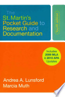 EasyWriter 4th Ed with 2009 MLA and 2010 APA Updates + The St. Martin's Pocket Guide to Research and Documentation 4th Ed with 2009 MLA and 2010 APA Updates