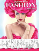 Fashion Coloring Book Grayscale