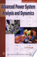 Advanced Power System Analysis And Dynamics Book PDF