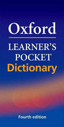 Oxford Learner s Pocket Dictionary