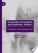 Sustainable Consumption and Production  Volume I