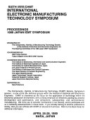 IEEE CHMT International Electronic Manufacturing Technology Symposium