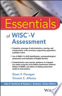 Essentials of WISC V Assessment Book