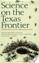 Science on the Texas Frontier Book