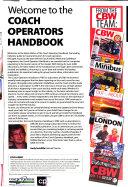 The Coach Operators Handbook