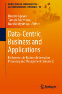 Data-Centric Business and Applications