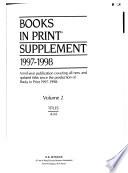Books in Print  , Bände 1-2