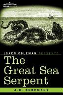 Pdf The Great Sea Serpent