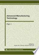 Advanced Manufacturing Technology  ICAMMP 2010 Book