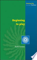 Beginning To Play Book