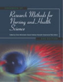 Handbook Of Research Methods For Nursing And Health Science