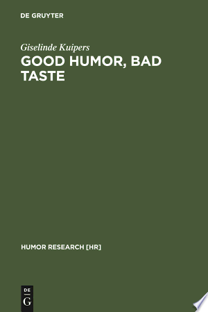 Good+Humor%2C+Bad+TasteGood Humor, Bad Taste is the first extensive sociological study of the relationship between humor and social background. Using a combination of interview materials, survey data, and historical materials, the book explores the relationship between humor and gender, age, regional background, and especially, humor and social class in the Netherlands. The final chapter focuses on national differences, exploring the differences between the American and the Dutch sense of humor, again using a combination of interview and survey materials. The starting point for this exploration of differences in sense of humor is one specific humorous genre: the joke. The joke is not a very prestigious genre; in the Netherlands even less so than in the US. It is precisely this lack of status that made it a good starting point for asking questions about humor and taste. Interviewees generally had very pronounced opinions about the genre, calling jokes