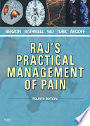 Raj s Practical Management of Pain Book