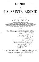 Le Mois de la Sainte Agonie