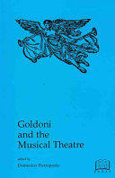 Pdf Goldoni and the Musical Theatre