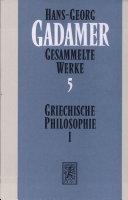 Griechische Philosophie I-III