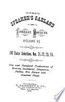 Speaker's Garland and Literary Bouquet