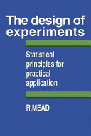 Pdf The Design of Experiments