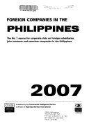 Foreign Companies in the Philippines Yearbook