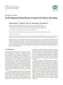 Fault Diagnosis Method Based on Improved Evidence Reasoning