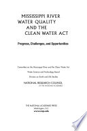 Mississippi River Water Quality and the Clean Water Act