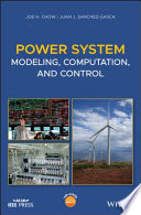 Power System Modeling  Computation  and Control