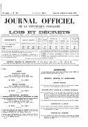 Journal officiel de la République franc̜aise