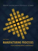 Manufacturing Processes For Engineering Materials Book PDF