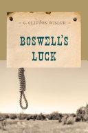 Boswell's Luck Pdf/ePub eBook