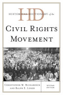 Historical Dictionary of the Civil Rights Movement - Seite 579