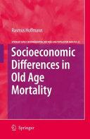 Pdf Socioeconomic Differences in Old Age Mortality