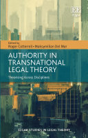 Authority in Transnational Legal Theory: Theorising Across Disciplines