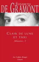 Pdf Clair de lune et taxi - Mémoires, 3 Telecharger