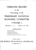Verbatim Record of the Proceedings
