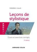 Leçons de stylistique - 4e éd. [Pdf/ePub] eBook