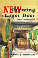 New Brewing Lager Beer Pdf/ePub eBook
