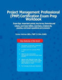 Project Managment Professional  Pmp  Certification Exam Prep