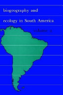 Biogeography and Ecology in South America