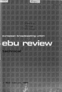 EBU Review. A, Technical