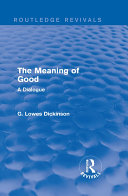 The Meaning of Good [Pdf/ePub] eBook