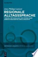 Regionale Alltagssprache