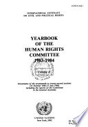 Yearbook of the Human Rights Committee