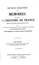 Pdf Nouvelle collection des mémoires pour servir à l'histoire de France