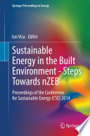 Sustainable Energy In The Built Environment   Steps Towards NZEB