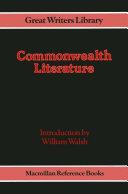 Commonwealth Literature [Pdf/ePub] eBook