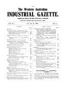 Western Australian Industrial Gazette