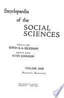 Encyclopedia of the Social Sciences