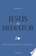 Jesus As Mediator