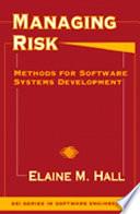 Managing Risk Book